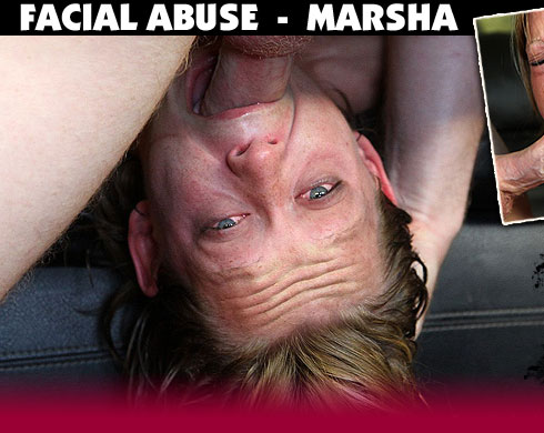 Marsha Destroyed On Facial Abuse